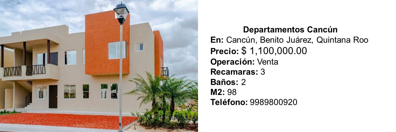 Departamentos Cancún